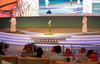 بيع صقرين بـ 443 ألف ريال في المزاد الدولي لمزارع إنتاج الصقور