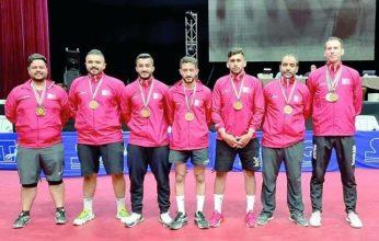 البحرين تحصل على فضية وبرونزيتان في البطولة العربية لكرة الطاولة