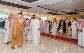 أمير منطقة الجوف يشارك في الاحتفال باليوم الوطني للسعودية