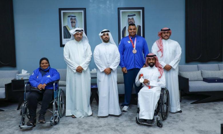 رئيس اللجنة الأولمبية الكويتية يشيد بإنجاز لاعبي الكويت بطوكيو 2020