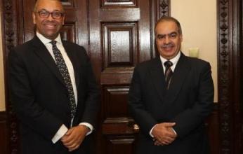 سفير البحرين في لندن يلتقي وزير الدولة للشرق الأوسط وشمال أفريقيا