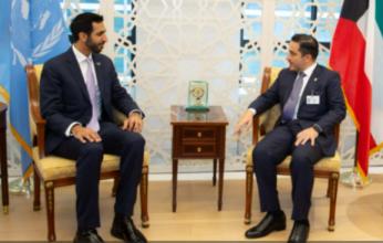 وزير الخارجية الكويتي يلتقي نظيره الإماراتي في نيويورك
