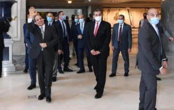 بالصور.. الرئيس السيسي يتفقد أكبر دار أوبرا فى الشرق الأوسط بالعاصمة الإدارية