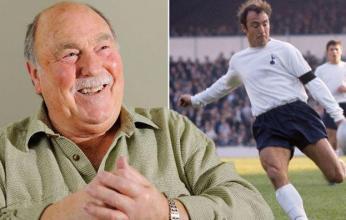 وفاة جيمي جريفز أحد أساطير الكرة الإنجليزية وتوتنهام السابق