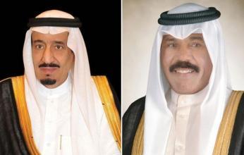 أمير الكويت يهنئ خادم الحرمين باليوم الوطني للسعودية