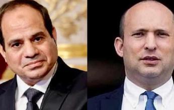 السيسي يلتقي رئيس وزراء إسرائيل بشرم الشيخ