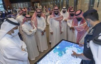 بالصور.. زيارة وزير الداخلية السعودي إلى مركز القيادة الوطني في قطر