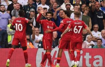 فوز ليفربول على ليدز بثلاثية بالدوري الإنجليزي