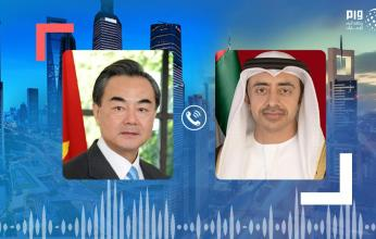 عبد الله بن زايد ووزير خارجية الصين يبحثان علاقات الصداقة والشراكة الاستراتيجية