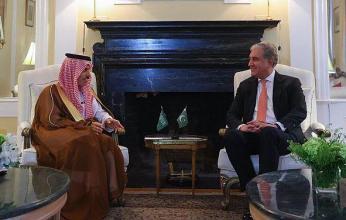 وزير الخارجية السعودي يلتقي نظيره الباكستاني