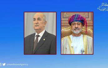 """السلطان هيثم بن طارق يعزي رئيس الجزائر فى وفاة الرئيس الأسبق """"بن صالح"""""""