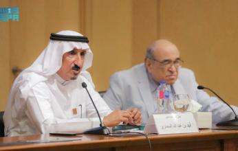 أمين عام دارة الملك عبد العزيز يلتقي مدير مكتبة الإسكندرية