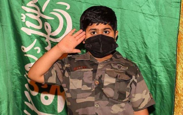 اليوم الوطني السعودي.. .. فرحة وطن في عيون أطفال الحدود الشمالية