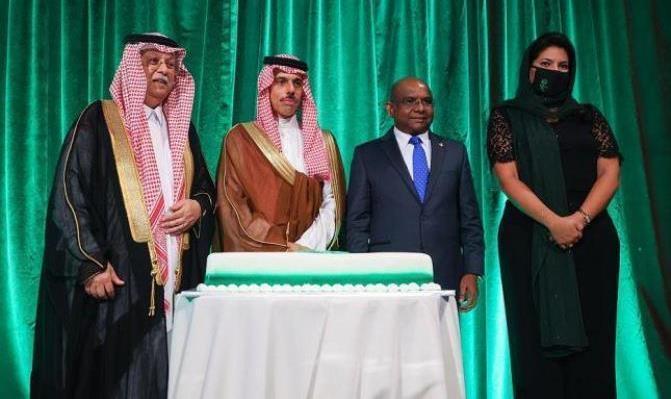وفد السعودية في نيويورك يقيم حفل اليوم الوطني 91 بحضور وزير الخارجية
