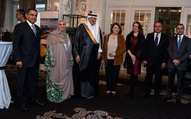 سفارة السعودية في سويسرا تحتفل باليوم الوطني
