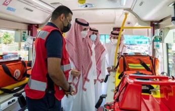 الجولف تطلق مبادرة تدريب منسوبي الإمارة والجهات الأمنية على الإسعافات الأولية