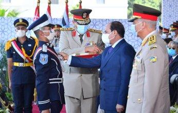 الرئيس عبد الفتاح السيسي يشهد حفل تخرج الكلية الحربية