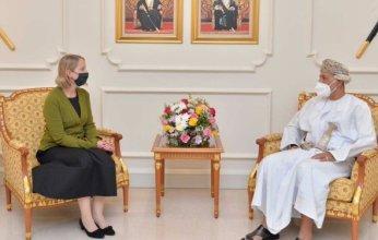 سمو السيد شهاب يلتقي سفيرة هولندا لدى السلطنة