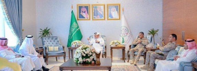 البياري يتفقد الملحقية العسكرية السعودية في العاصمة الإماراتية أبوظبي